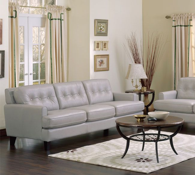 Barbara 3 Seater Leather Sofa Palliser Furniture Furniture Leather Living Room Set
