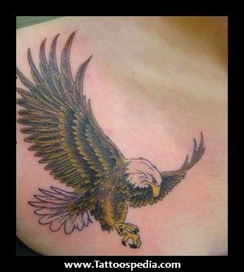 Small eagle tattoos women tattoospedia small eagle for Small eagle tattoo