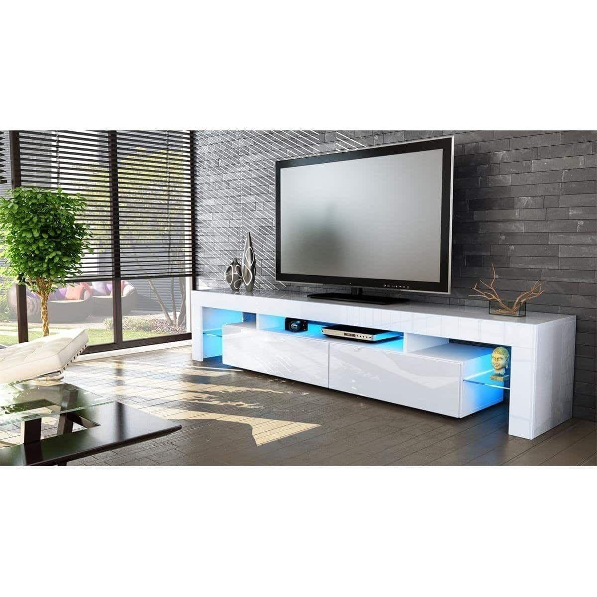 Meuble Tv Led Blue Light