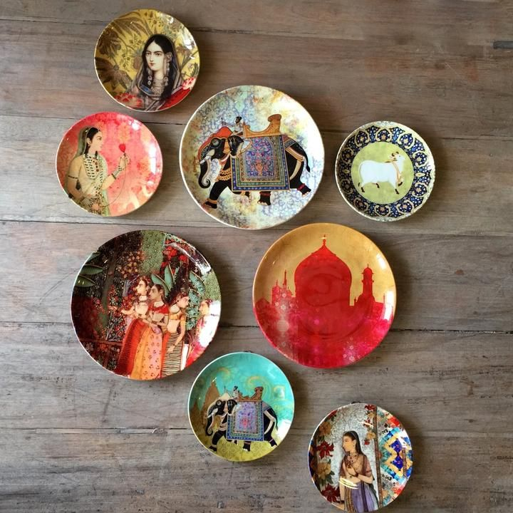 Create Beautiful Displays With Wall Plates Plates On Wall Hall