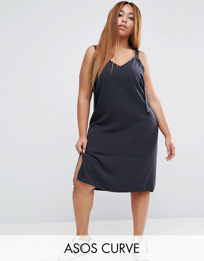 ¡Consigue este tipo de vestido informal de Asos Curve ahora! Haz clic para  ver 94ab44b1d43f