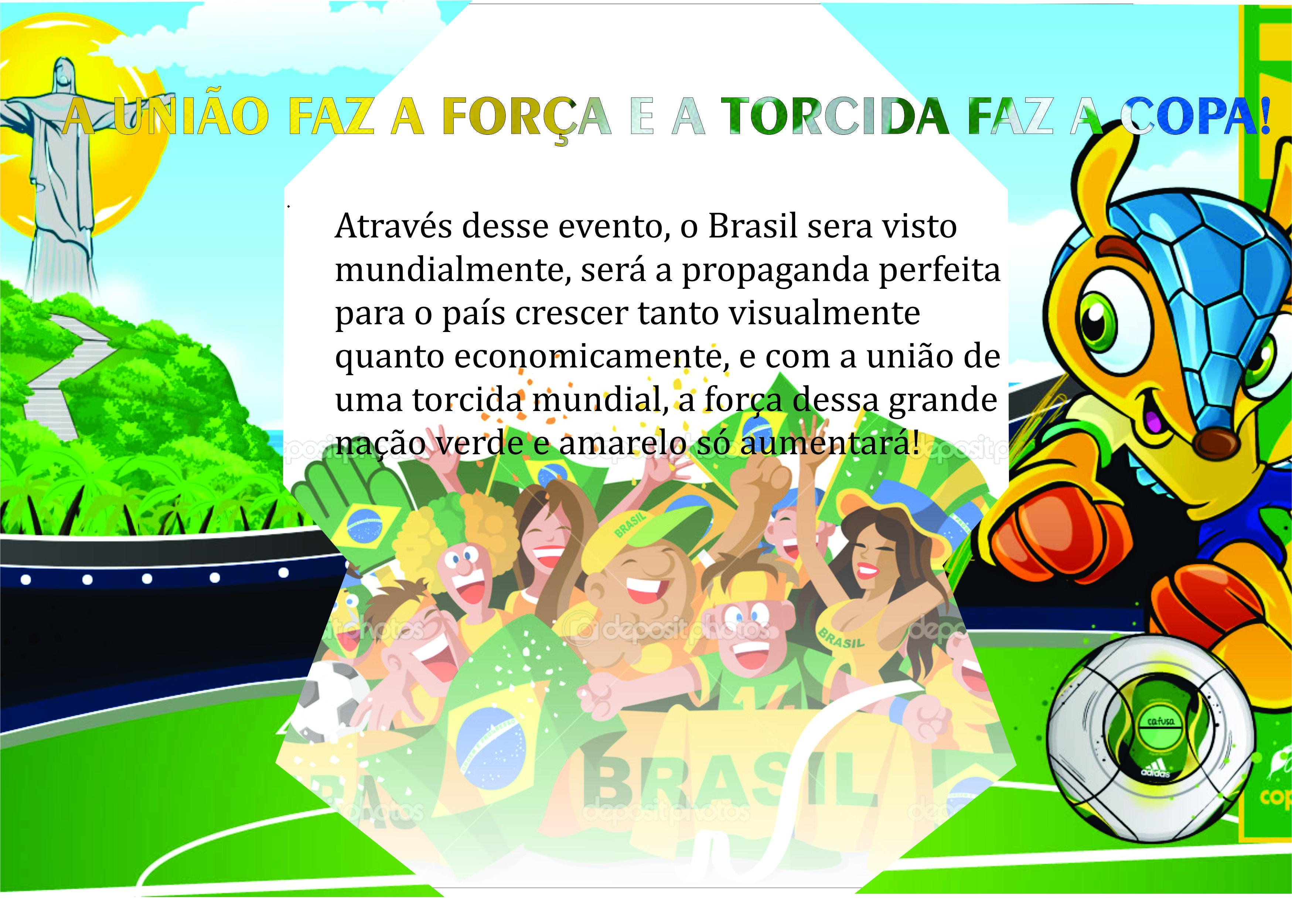 Propaganda Copa do Mundo 2014