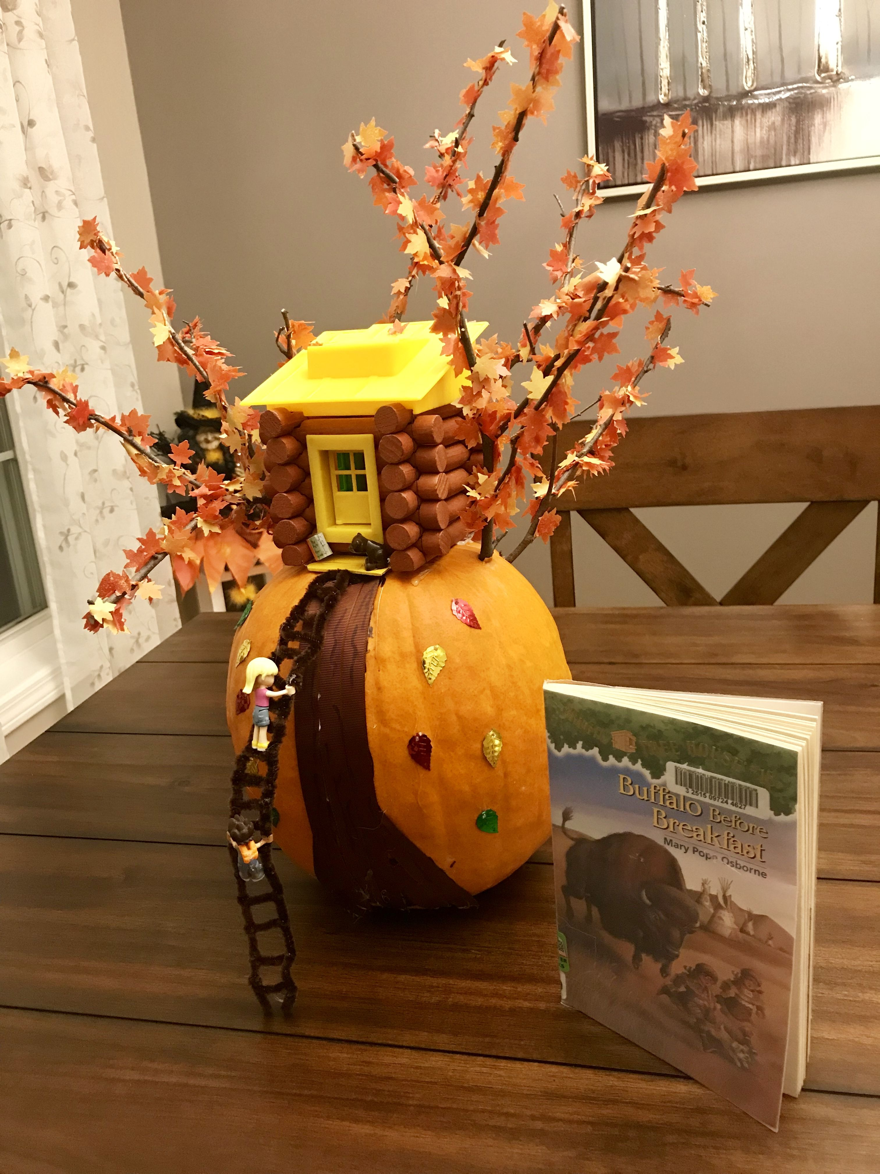 Magic Tree House Pumpkin Based On Book Series Teddy The