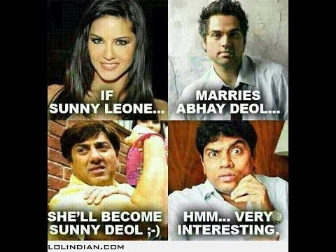 Sunny leone funny comedy gossip and jokes | funny | Abhay