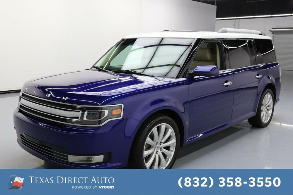 For Sale 2015 Ford Flex Limited W Ecoboost Texas Direct Auto 2015
