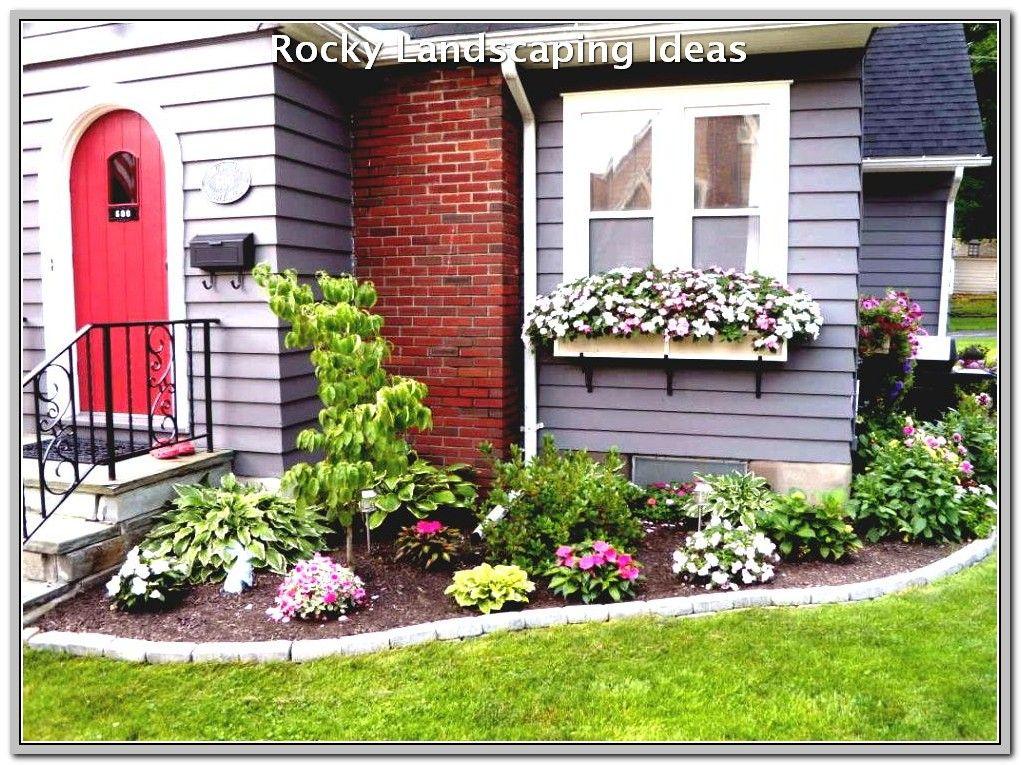 48++ Front yard flower bed ideas information