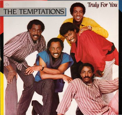 Motown Album Cover Of The Re Grouped Temptations Minus