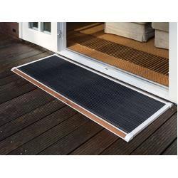 Photo of Door scraper New Standard Rizz white, designer Trudie Zuiddam / well design, 2.2x175x70 cm Rizzrizz