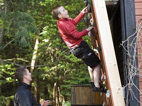 How to Build a Backyard Climbing Wall, Skate Ramp & BMX Jump