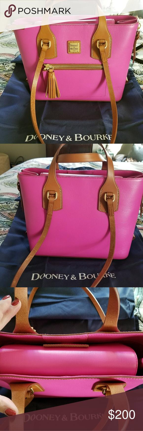 Pink Dooney and Bourke handbag