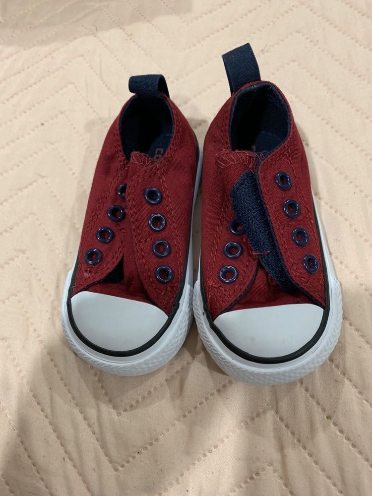 infant converse All Star size 4 never used  fashion  clothing  shoes   accessories  babytoddlerclothing  babyshoes (ebay link) 1427512b9