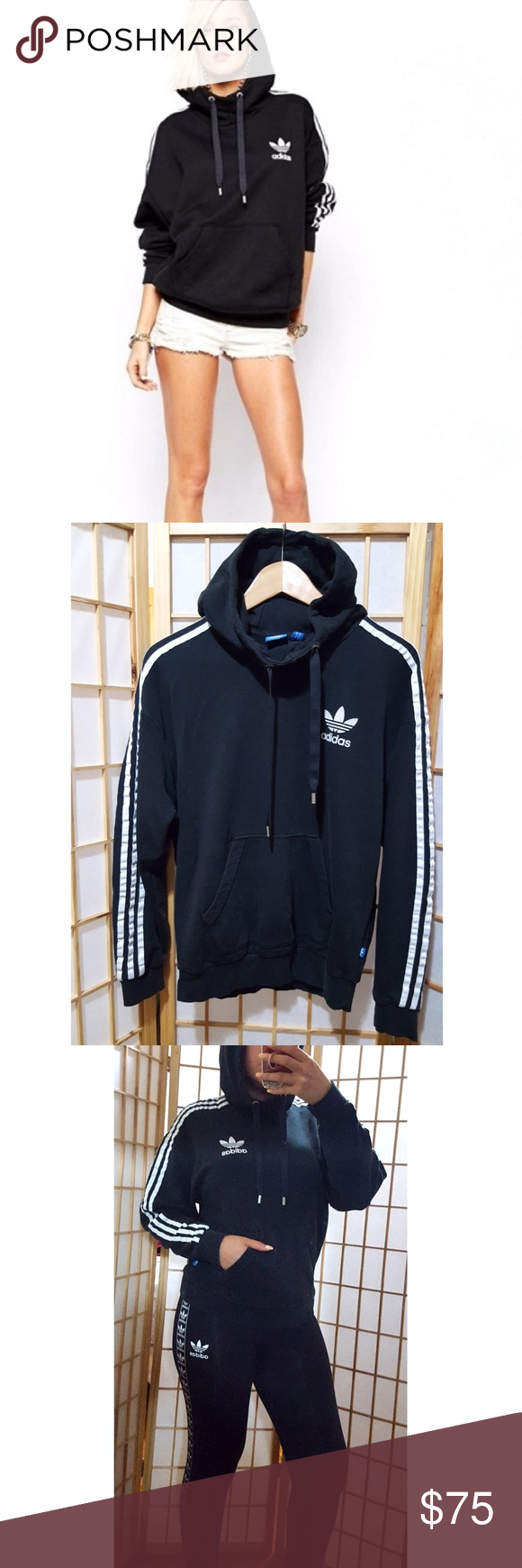 Rare Cowl Neck Adidas Hoodie Top S This Hoodie Is Sold Out A Pinterest Fave It Has A Cute Feminine Fit Not Your Boy Hoodie Top Adidas Hoodie Clothes Design [ 1740 x 580 Pixel ]