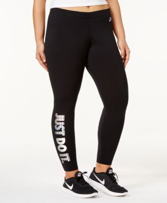 e5e8be2243dfd3 Nike Plus Size Leg-A-See Just Do It Hologram Leggings | nike | Nike ...