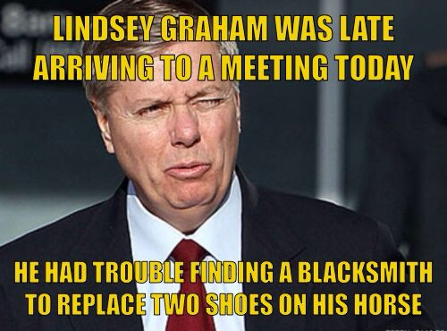 Lindsey Graham Comes Out As A Luddite Admits To Never Having Sent An Email What Other New Fangled Gadgets Has Mr Graham Refused To Use Lindsey Mr Coming Out