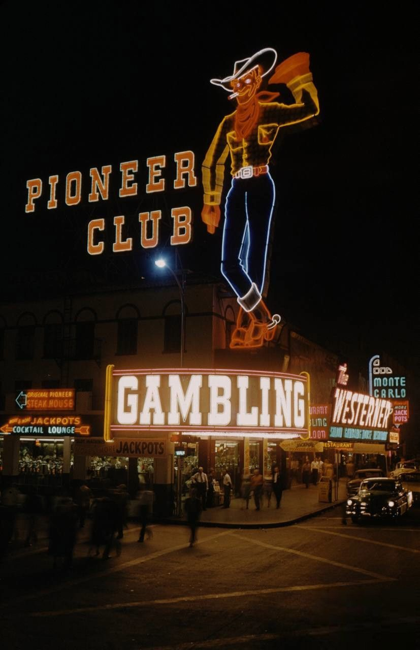 Pioneer Club 1955 They Call The Cowboy Vegas Vic He Was Made By