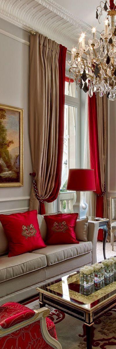 Pin von Karen McCreary auf Paris ~ Rouge | Wohnen ...