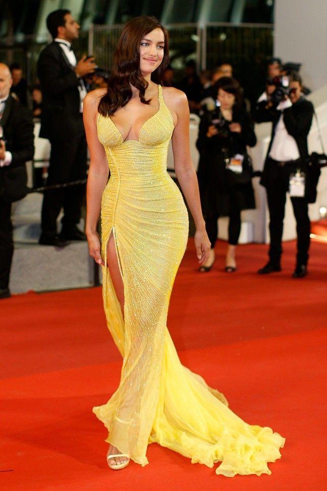 Irina Shayk At Cannes La Reaparición Imponente De Irina