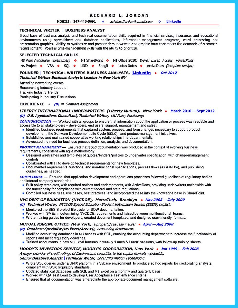 resume How To Write A Business Analyst Resume nice best secrets about creating effective business systems analyst resume check more at http