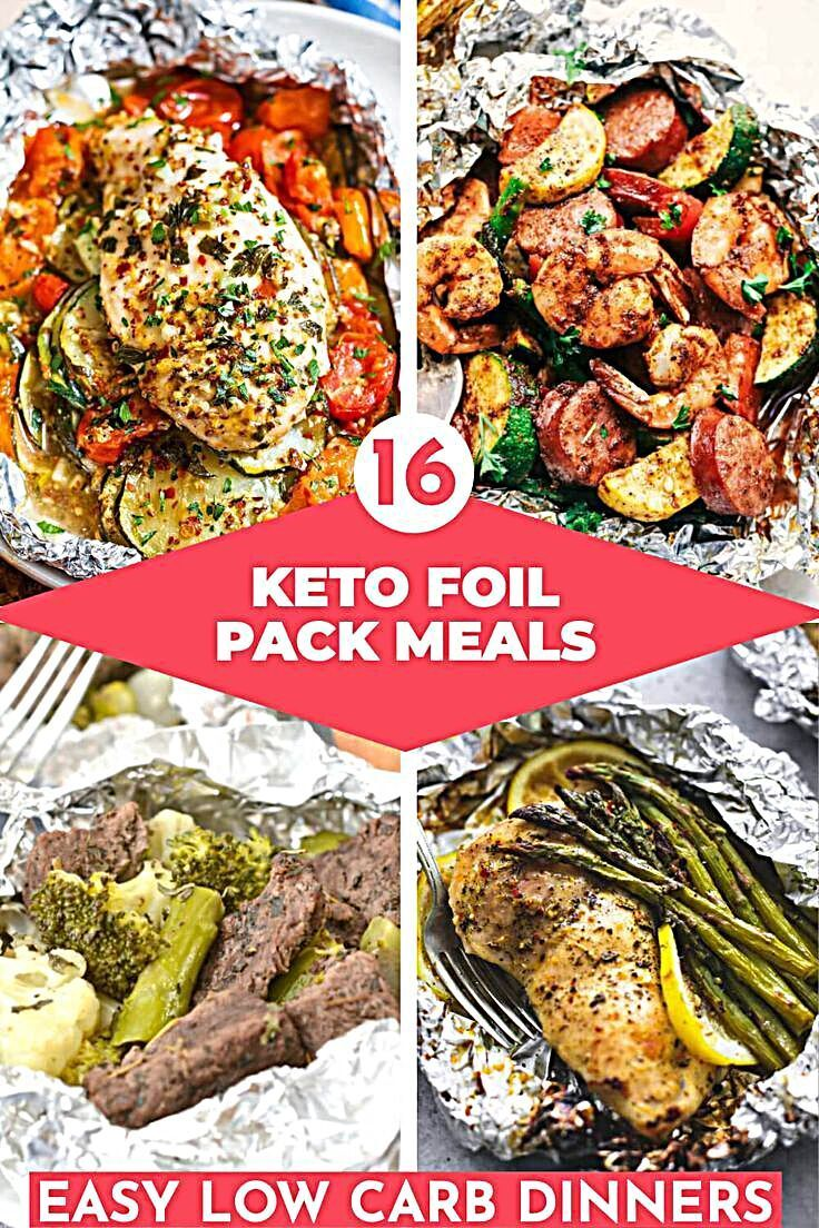 Photo of Keto Foil Pack Meals! 16 Easy Low Carb Foil Packet Dinner Ideas Youll Want To Tr…