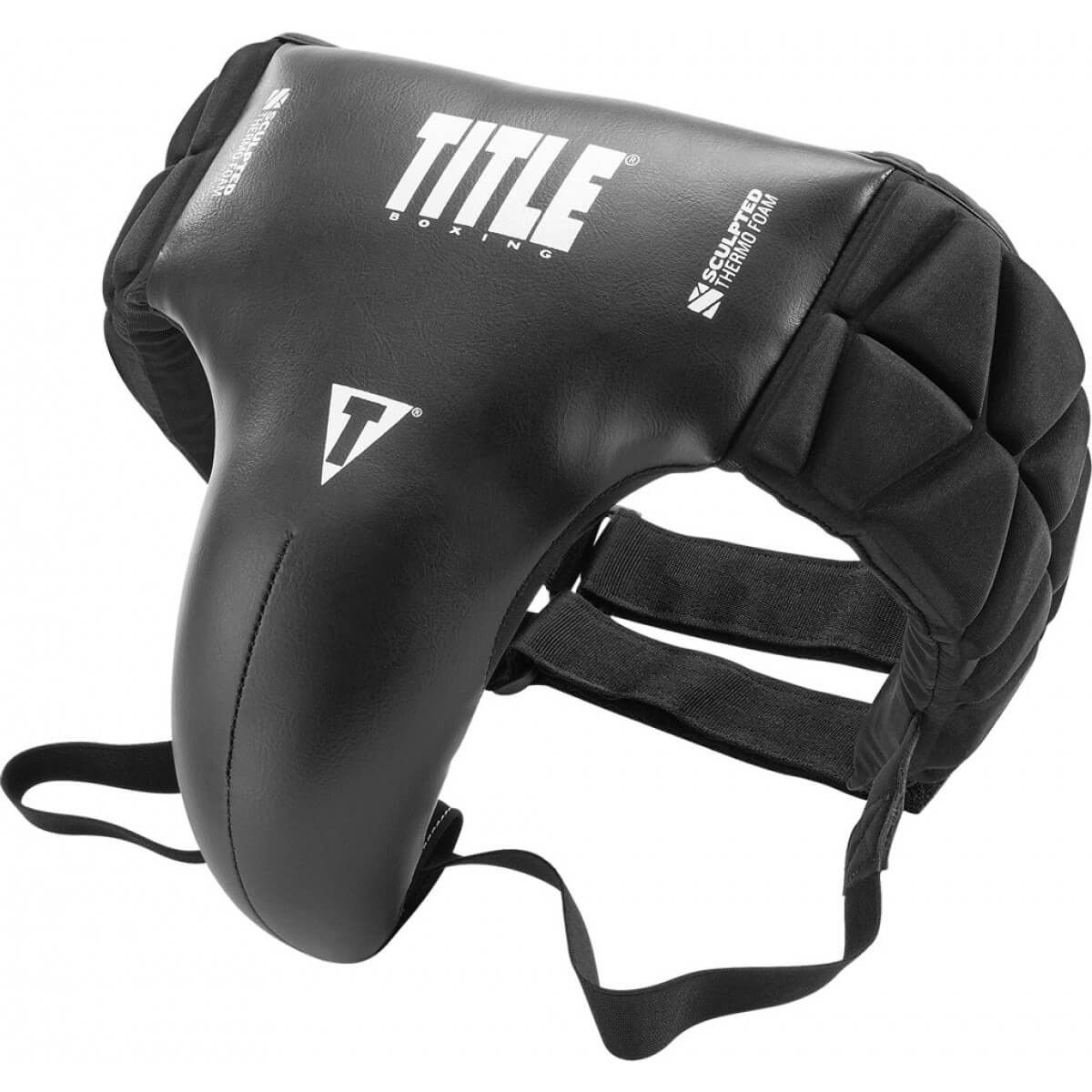 Title Sculpted Foam Groin & Ab Protector