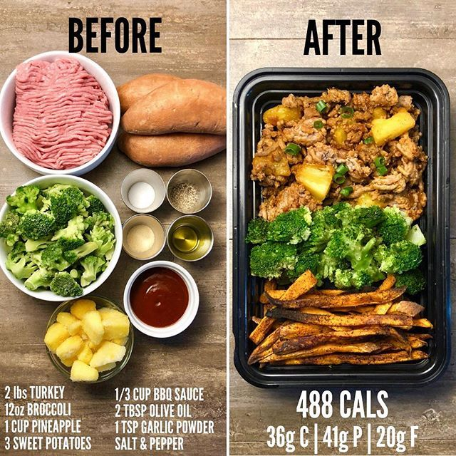Weight Loss vs  Weight Gain with Enchilada Chicken from Page 80 of The Meal Prep Manual  60 Minute Meals 😎     I'm often asked on posts… is part of Workout food -