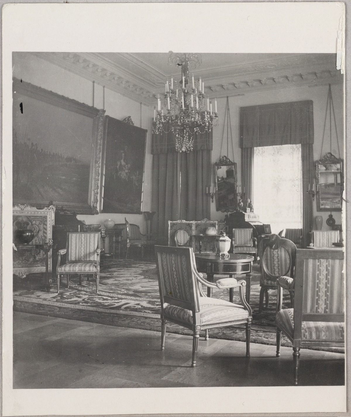 Fine Alexandras Formal Reception Room At The Alexander Palace Download Free Architecture Designs Scobabritishbridgeorg