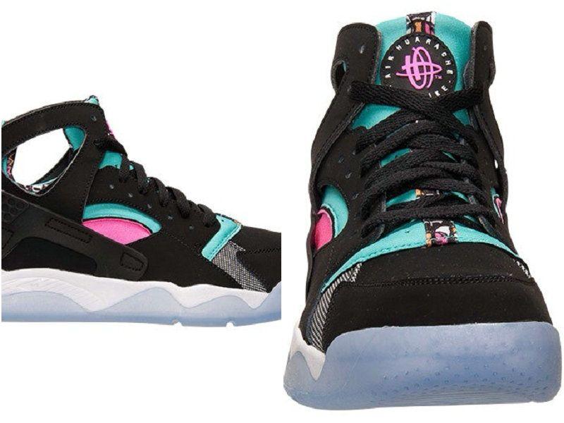 sale retailer 3d835 a5c1d Best Modem Huaraches 2016 Latest Running Shoes Male Nike Air Flight  Huarache High Black Green Pink 40-45 Outlet Online
