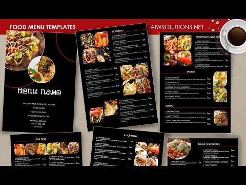 Food Menu \u2013 id26 Menu restaurant, Menu templates and Drink menu - bar menu template