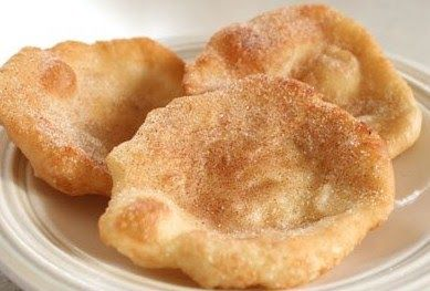 Fried Scones!  Bread Dough – I like to use Rhodes Rolls. I zap them in the microwave for a quick thaw.  Oil – I use canola oil  toppings – ...