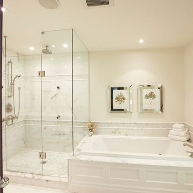 shower and bath connected - Google Search | Manhattan Beach ...