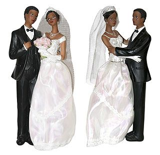 Figurines mariés black - Vous souhaitez mettre une touche finale sur votre pièce…