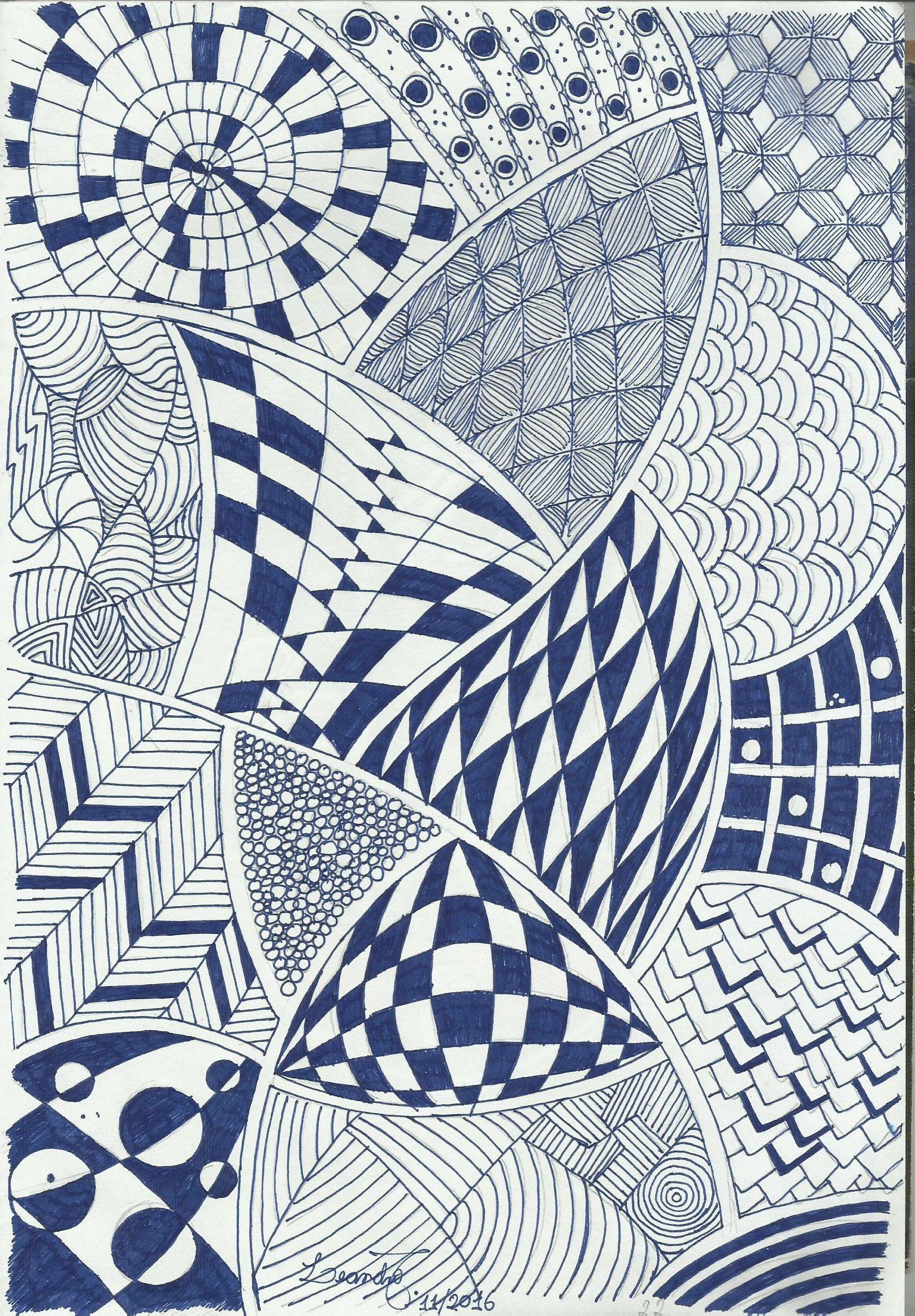 Exemplos de desenhos abstratos
