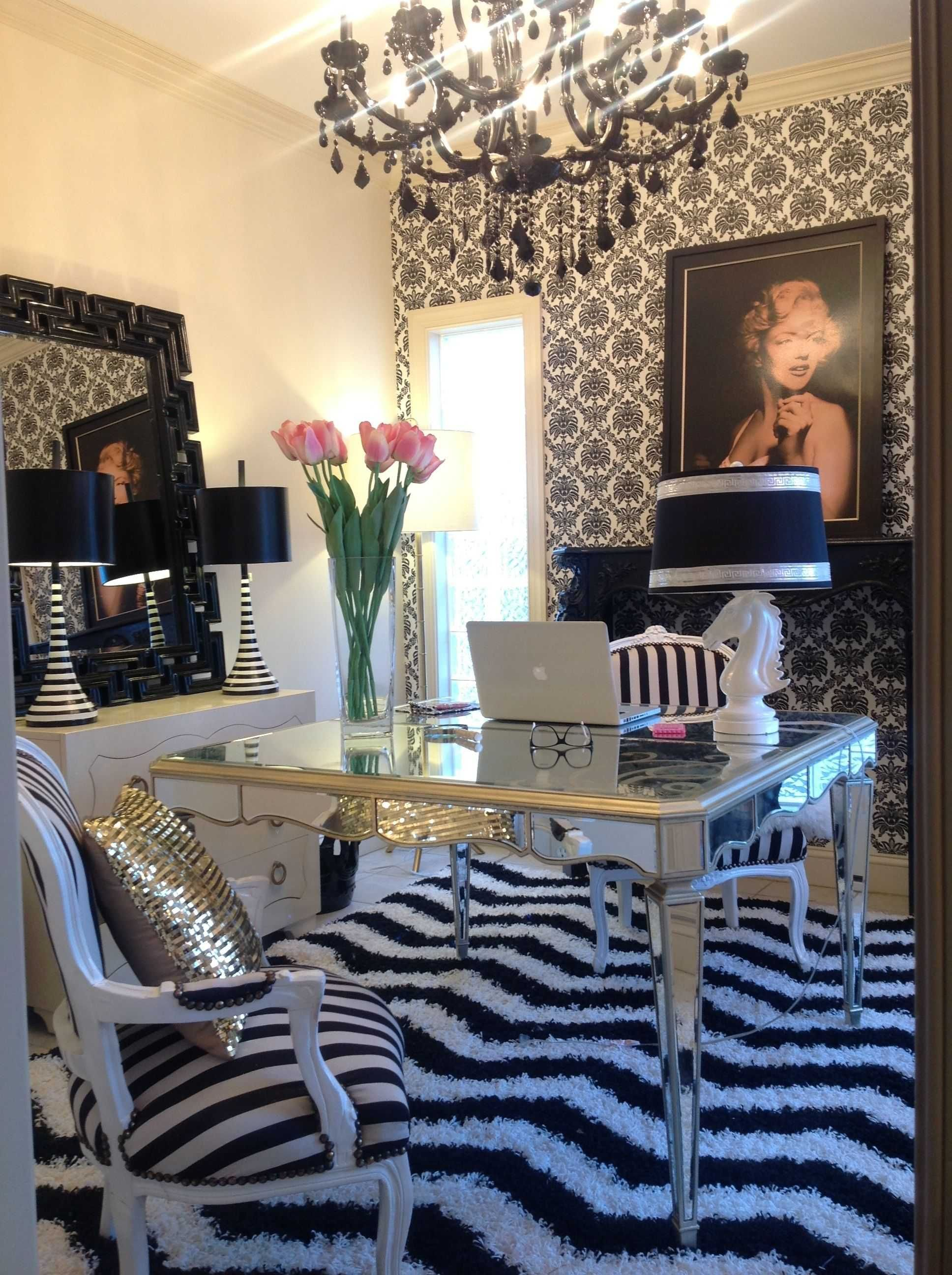 Inspirational Glam Home Office Decor Home Office Design Home