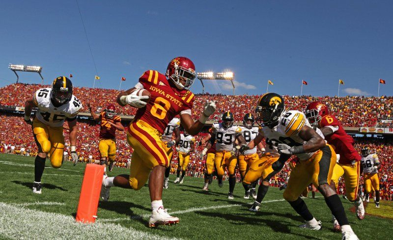 Image result for iowa iowa state football