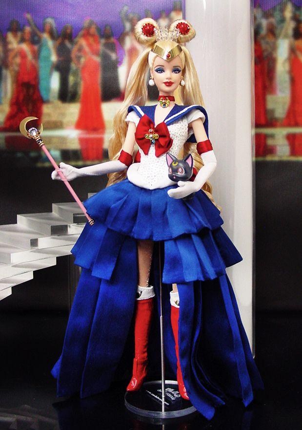 Barbie as sailor moon serena in 2019 ninimomo ooak dolls barbie dolls barbie barbie dress - Barbie barbie barbie barbie barbie ...