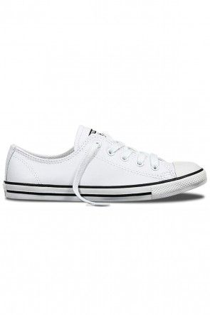 ... Womens Casual Shoes White US 6. Converse - CT Dainty Leather Low White   89.99 Shop ll http   www. fadec64a7