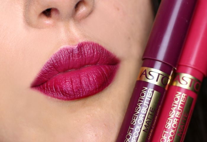 ombre lips lila rosa