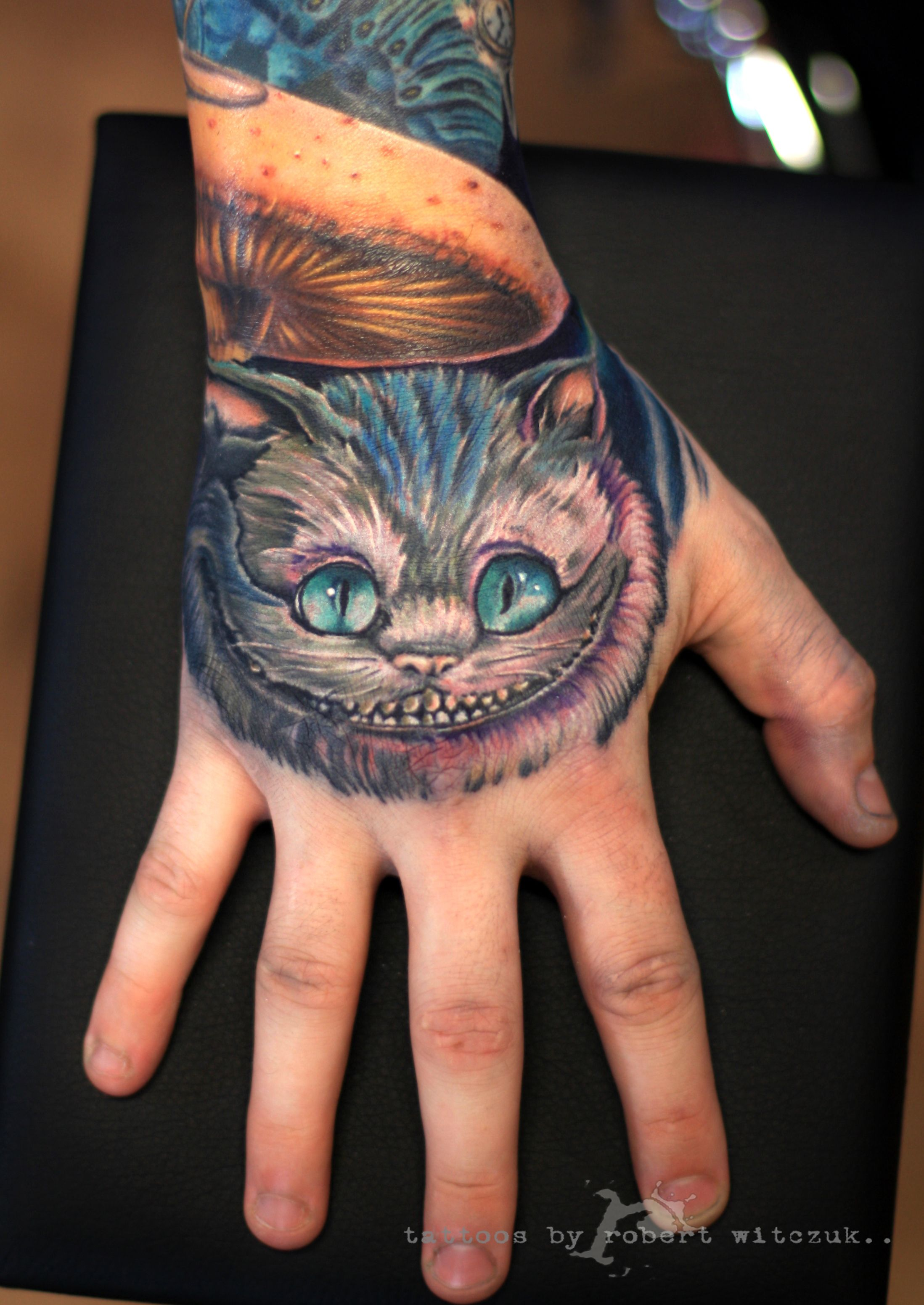 Alice in Wonderland Tattoo by Robert Witczuk (5) | Tattoos | Pinterest