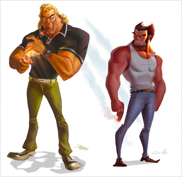 My Money S On Brock Geek Art Fan Art Concept Art Characters