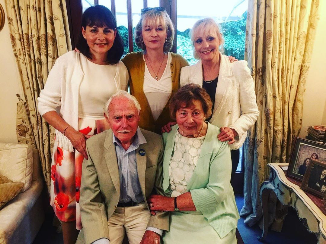 Doug Barbara Smith 65th Wedding Anniversary with daughters Carolyn 2 Jacqui  3 and Catherine 1. in 2020 | 65th wedding anniversary, Instagram posts,  Instagram