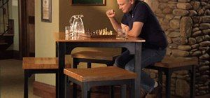 How To Build Your Own Pub Table And Matching Stools Furniture
