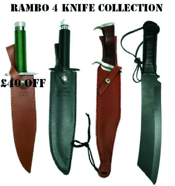 Rambo Knife Collection Offer Knifewarehouse Co Uk