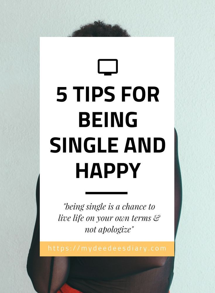 How to have a happy single life