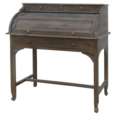 Home Decor Furniture Desk Acacia Wood Bureau Desk In Toffee With Three Drawers And A Lift Lid Product Desk Construc Furniture Home Remodeling Diy Home
