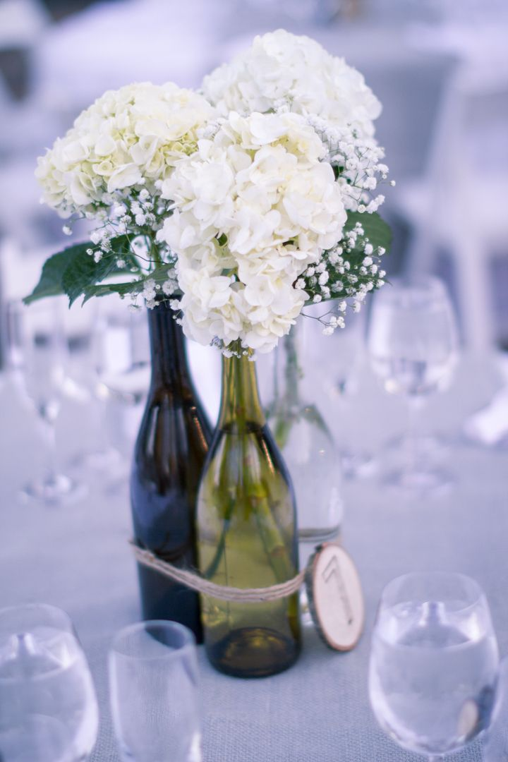 The bee 39 s knees for all things related to teaching for Wine bottle table centerpieces