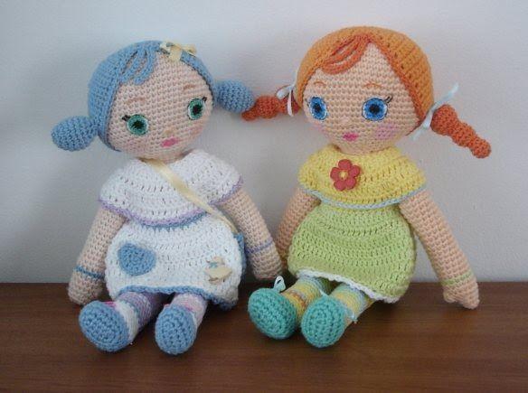 Amigurumis Muñecas : Precioso patrón amigurumi de las muñecas moshka diseño original