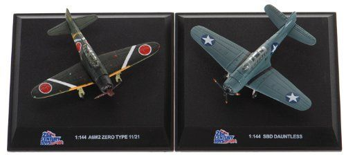 SBD Dauntless & A6M2 'Zero' 1:144 scale WWII Aircraft Two