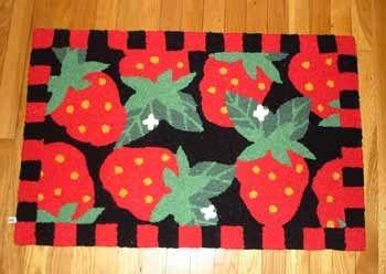 Strawberry Themed Kitchen Decor