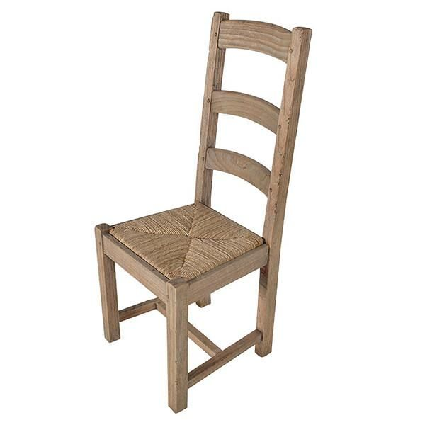 0f22565aca7ae Colonial Reclaimed Pine Dining Chair front view