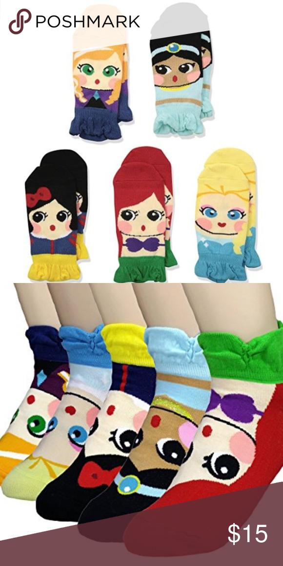 237bf9e4af8 NEW Disney Princess Inspired Socks  NEW  Disney Princess Inspired Socks 5  Pairs Includes Princesses